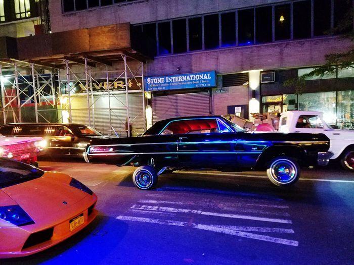 streets of New York New York City Cars Classic Car Lamborghini Chevrolet Hydraulics
