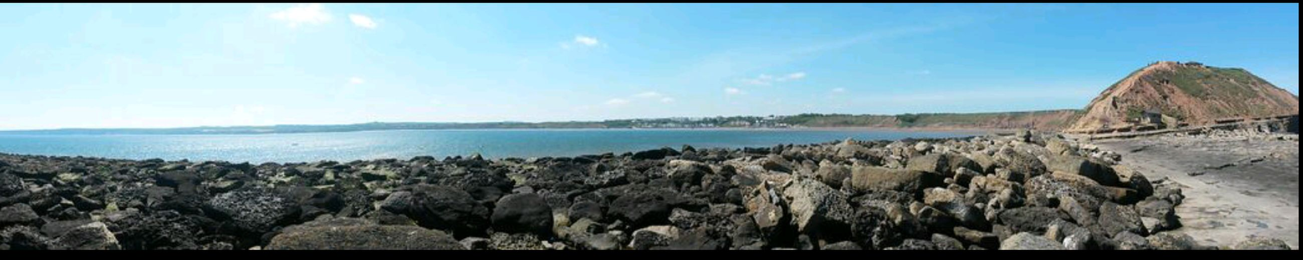 Sea Water Beach Filey Filey Bay Filey Beach Filey Seafront Fileybrig Panoramic Landscape Mobile Photography Panorama View First Eyeem Photo Snapshots_daily Photography Photooftheday PhonePhotography Beachday Cliffside View Cliffs And Sea