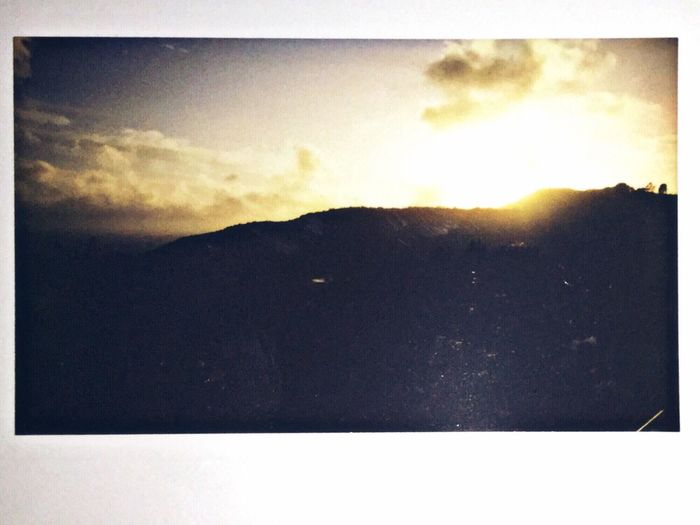 new instax 300 wide film Sky Landscape Nature Mountain Sunset Cloud - Sky Outdoors Tranquil Scene Beauty In Nature No People Day Instax Wide Film Fujifilm Wide Wide Film Lomography Hello World Filmisnotdead Instant Film Fujifilm Film