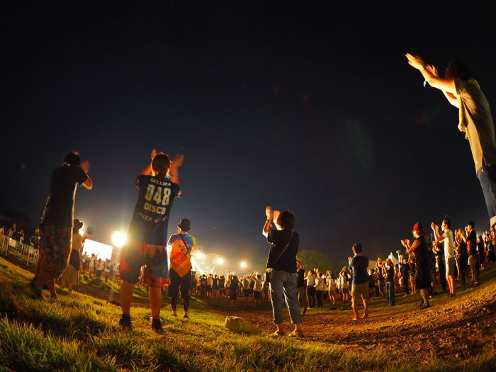 People Night Field Event Olympus Travel Destinations Taking Pictures山中湖 Taking Photos Rock Festival Summer Memories 🌄 Fisheye 山中湖