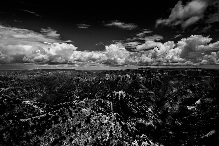 Flying Barrancas Del Cobre  Barrancasdelcobre Bnw Cloud - Sky Clouds And Sky Day Environment Horizon Horizon Over Land Land Landscape Nature No People Non-urban Scene Outdoors Rock Scenics - Nature Sky Tranquil Scene Tranquility
