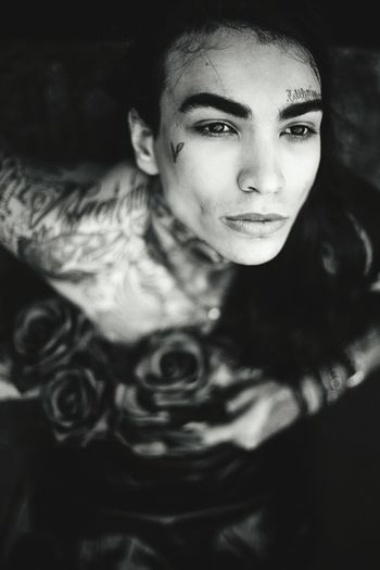 Tattoo Life Monochrome Photography