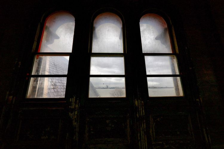 Crossness Pumping Station Window Architecture Built Structure Indoors  Low Angle View No People Building