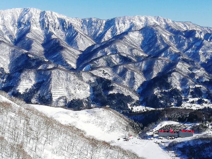 Backgrounds No People Nature Beauty In Nature Japanese  Winter Landscape Snowcapped Mountain Japan Ski Holiday Hakuba Scenics Mountain Range Day Outdoors EyeEmNewHere