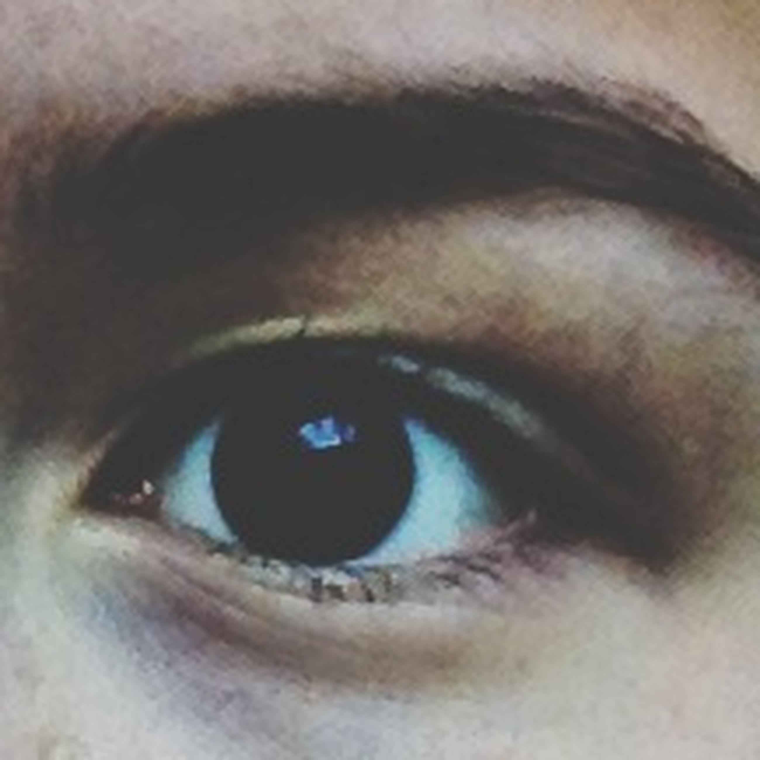 human eye, close-up, eyelash, eyesight, indoors, extreme close-up, part of, sensory perception, human skin, full frame, human face, looking at camera, extreme close up, portrait, detail, backgrounds, eyeball