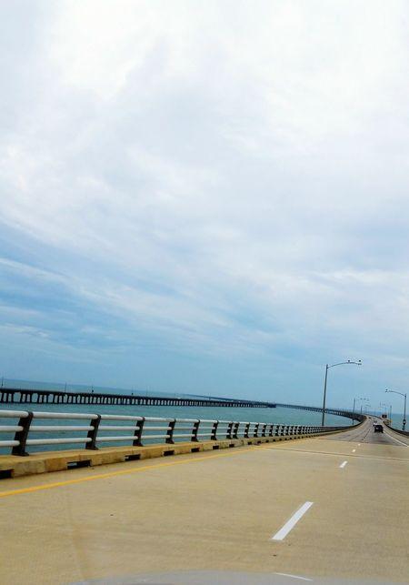 Learn & Shoot: Leading Lines Chesapeake Bay Bridge Virginia Bridge Ontheroad Tunnel Vision Bridgeporn Vanishing Point