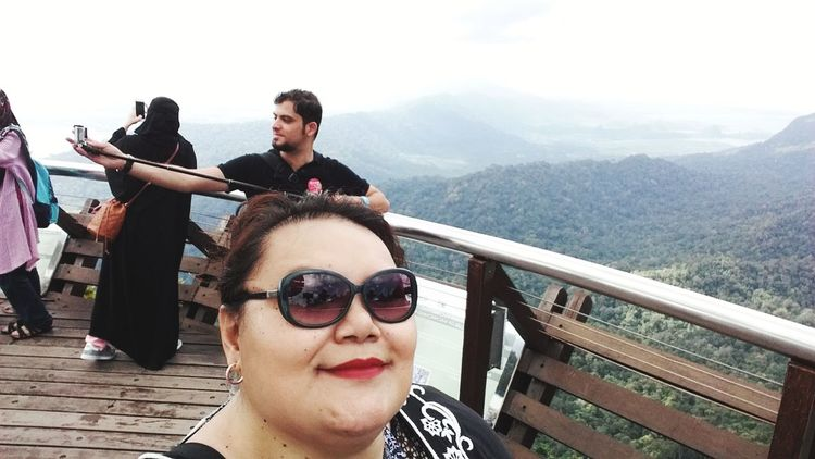 I thought I found the right spot and Photobombed No Privacy Mountain View Holiday Gunung Mat Chincang Langkawi Island Malaysia Enjoying The Sun First Eyeem Photo EyeEmNewHere EyeEm Selects Postcode Postcards .....