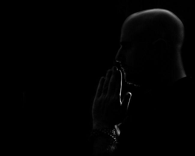 Return to Now... Portrait Conceptual Blackandwhite EyeEm Bnw Buddhism Spiritual Noir Darkart