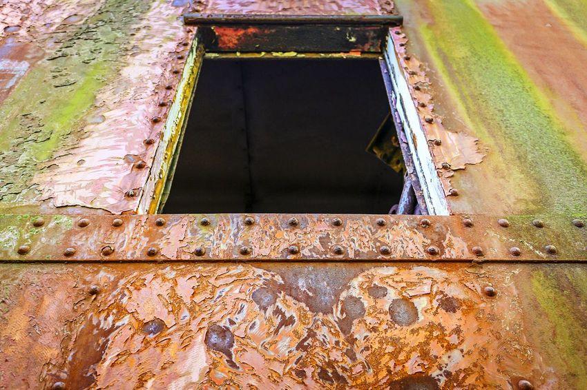 Train window Peeling Paint Window Beauty Of Decay Abandoned Places EyeEm_abandonment Rotting Away Rust Train Colors Urbex
