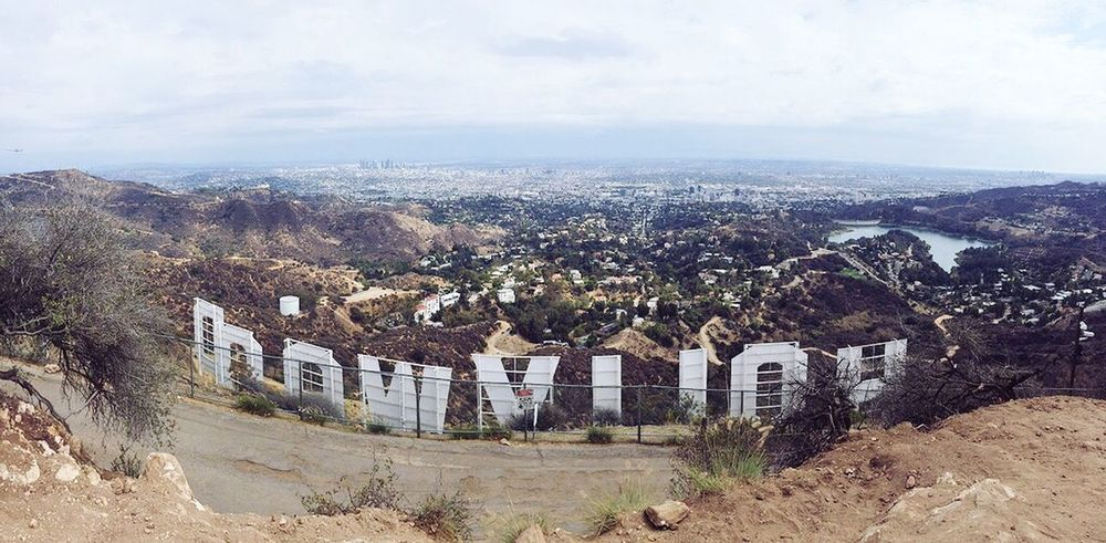 Cityscapes Hollywood Sign The City Hike Hello World