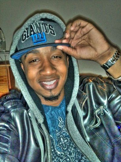 Cold world. Just trying to keep warm... Giants Coolin Snapback Leather Jacket Livingstone College