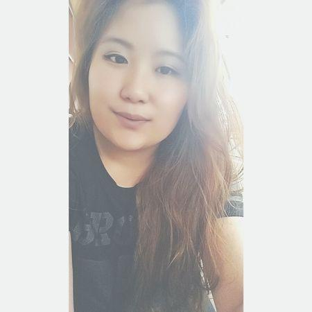 gonna enjoy my lazy off work day today 😊 Lazy Day✌ Off Work Tumblr Girl Jakarta INDONESIA The EyeEm Breakfast Club Kota Tua Good Mythical Morning Natural Hair Asian Girl