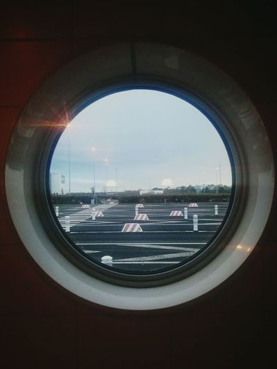 Calais  Eurotunnel Window Desert Empty Places Nocars Touring