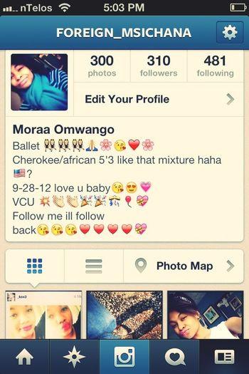 Folow Me On Instagram