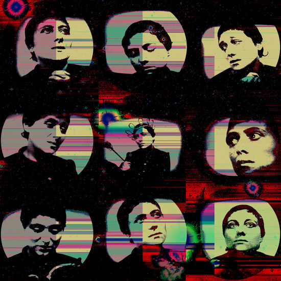 Joan Of Arc Photo Collage Arty Glitch