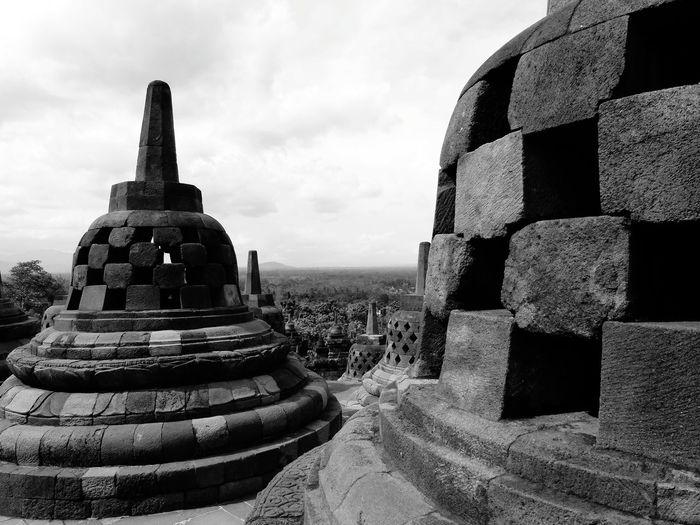 Borobudur Yogyakarta Temple Budist No People INDONESIA