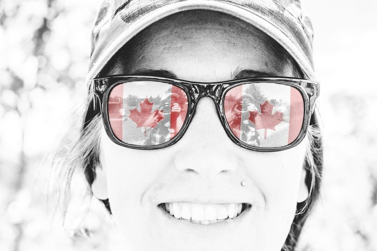 EyeEm Canadian Canada Day Canadian Flag Celebration Close-up Day EyeEm Canadian Focus On Foreground Having Fun Headshot Human Face Leisure Activity Lifestyles National Flag Nature Ontario, Canada Outdoors Patriotism Portrait Red Selective Focus Showcase July Splash Of Color Sunglasses Sunglasses :) The Week On EyeEm Fine Art Photography