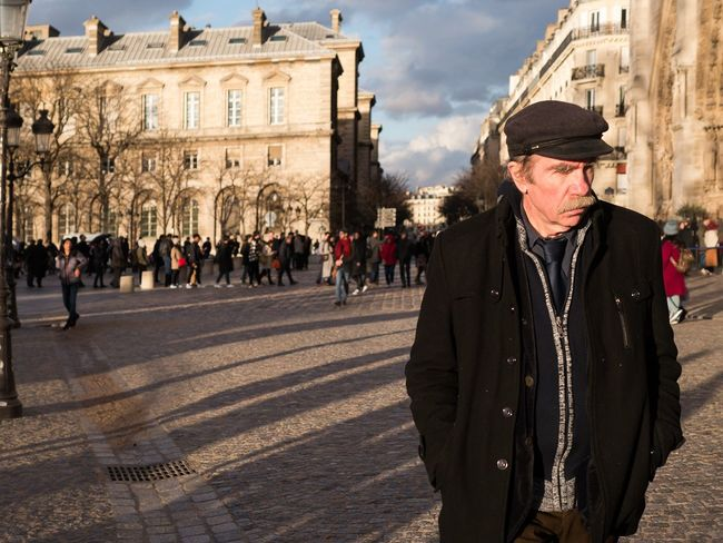 introspection - Paris, Jan 2018 EyeEmReady EyeEm Best Shots - The Streets Senior Adult History Adult Only Men Outdoors Adults Only One Man Only
