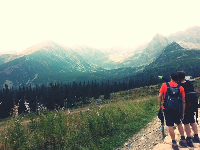 Magic Mountain Tatra Mountains With My Friend Remembering This Moment