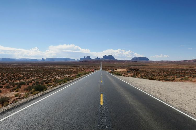 Road The Way Forward Landscape Mountain Outdoors Sky Day Scenics No People Blue Beauty In Nature Nature Politics And Government