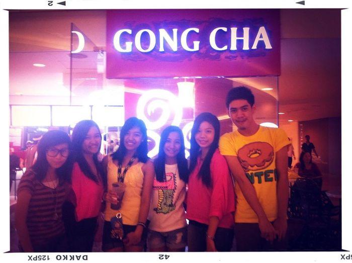 Gong cha humabol si ate mariel :) @itszmarielgrace