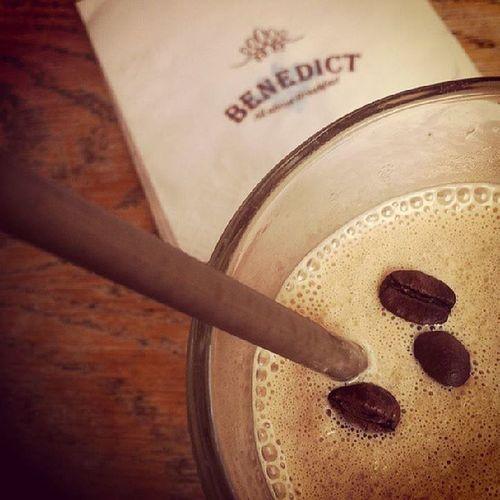 Love ice cold coffe in the mid of august heat! @Benedictbreakfast Rotschild Tlv
