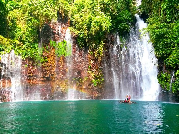 Tree Water Waterfall Waterfalls Beauty In Nature Travel Destinations Tinago Falls Nature EyeEmNewHere