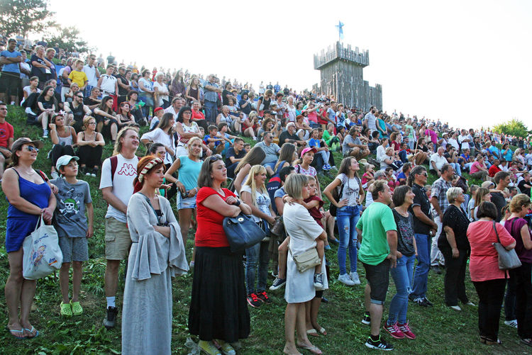 Renaissance Festival,Koprivnica 2016,big colourful audience, 52 Auditorium Croatia Crowd Crowd Day Eu Europe Event Fair Koprivnica Large Group Of People Outdoors People Renaissance Festival Spectators Standing Summer