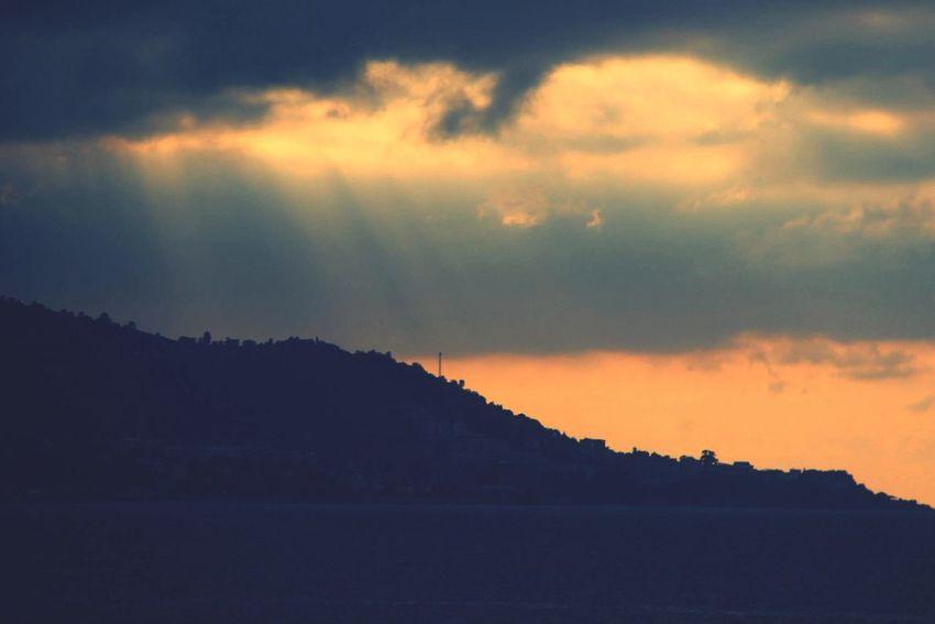 City Of Hazelnut Landscape Blacksea Clouds