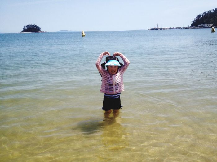Lovely. Sea Swimming my daughter
