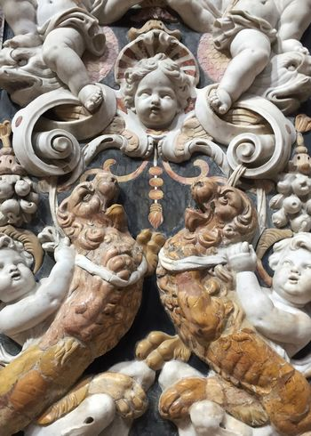 Travel Sicily Italy baroque church detail Church Detail Italien Travel Palermo Baroque Style Baroque Excess