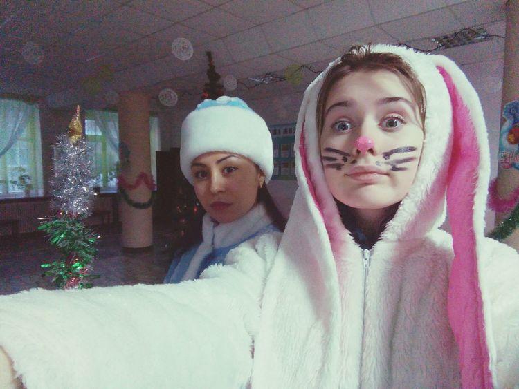 заяц Hi! скороНовый год 2016 Omg