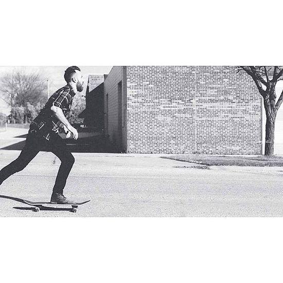 Jump into a little film look with me Photographer-@brewcityflash2 Model-@theclintstagram88 Downhill Blackandwhite Filmlook Film Fugifilm VSCO Skateboarding Skatelife Photooftheday Canon Lightroom Canon_shoot Model Enjoylife Greatspirit ThaTruth Thrasher Skate Skateboard