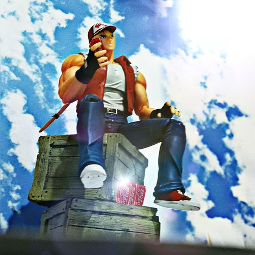 COKE TIME Toy Photography Toygallery Action Figures Fatalfury Terrybogard