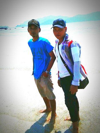 Being A Beach Bum my friend