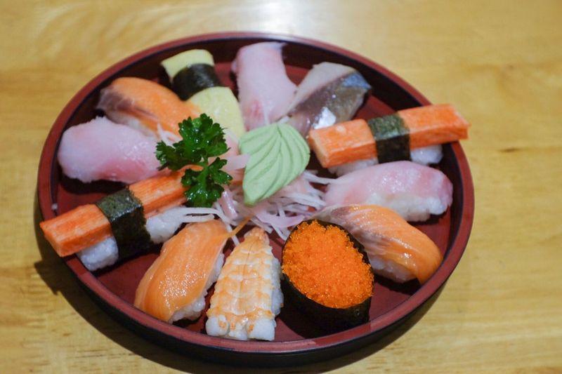 Sushi 🍣 Sushi Japanese Food Fujifilm Fujifilm_xseries Fuji X-M1 Fujian 35mm