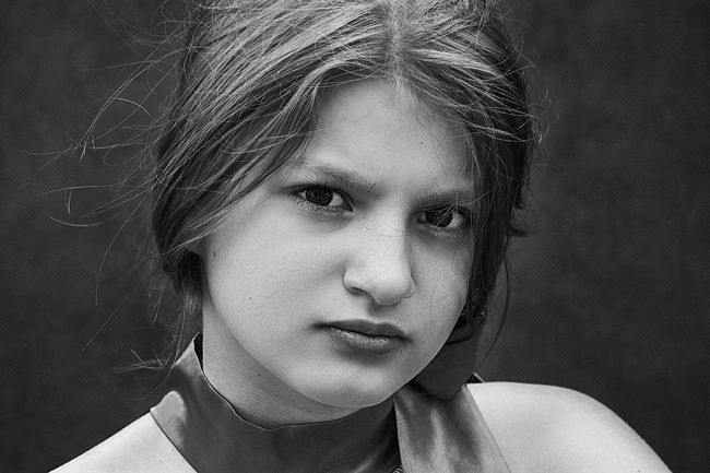 Blackandwhite Black And White Black & White Blackandwhite Photography Black And White Photography Black&white Blond Hair Portrait Headshot One Person Childhood Close-up Looking At Camera Real People Beautiful Woman Human Face Human Eye Child People Young Adult Human Body Part Children Only Adult
