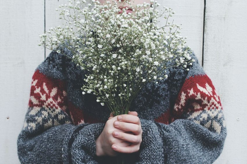 Picking flowers People Child Flowers Babys Breath Young Nature RePicture Growth