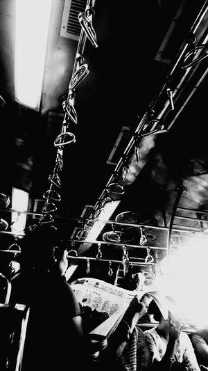 Daily Life People EyeEmNewHere Blackandwhite Indianstories Composition Shadow Blackandwhitephotography Indianphotographer HighContrastPhotography Railwayphotography Trainindoor MISSION:BLACKBACKGROUND Rethink Things