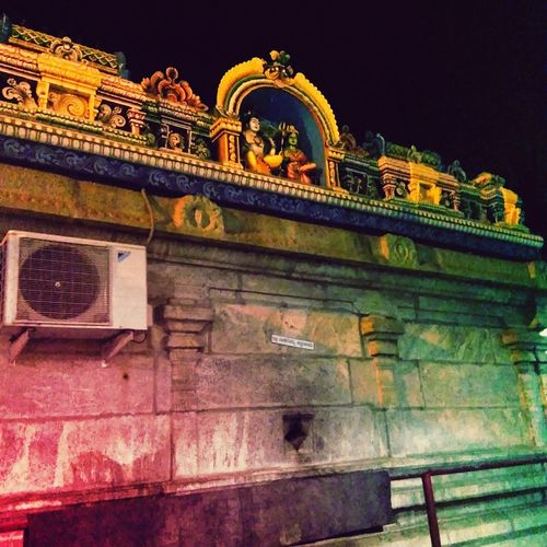 Cities At Night In Bangalore Someswara Swamy Temple