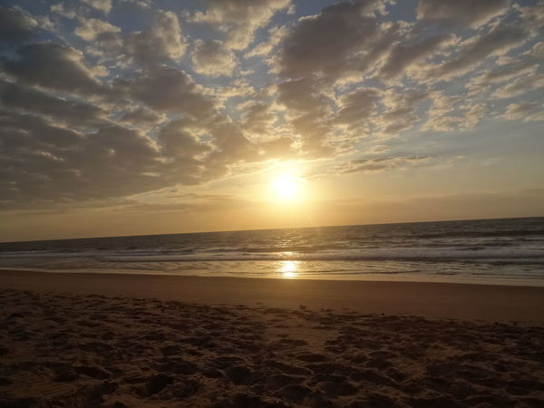 Happiness Nature Paradise Beach Sky And Sea Sun Reflection On Water Sunrise Sunrise On The Beach Sunset
