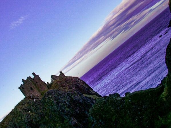 Different Perspective Different Angle Diffrentperspective Differentview Dunnottar Castle Dunnottar Dunnottarcastle Scotland Escocia Sunset Silhouettes Coloured Clouds Cliffs Click_vision Sea View Ruined Building Ruins Check This Out EyeEm Gallery Feel The Journey The Magic Mission