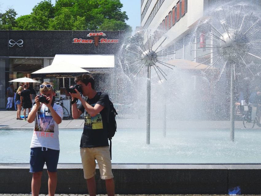 The crew in action. Taking Photos EEA3 EEA3 - Dresden Streetphotography Cheese! Eye4photography  Live To Learn The Photojournalist - 2015 EyeEm Awards TwentySomething Sound Of Life