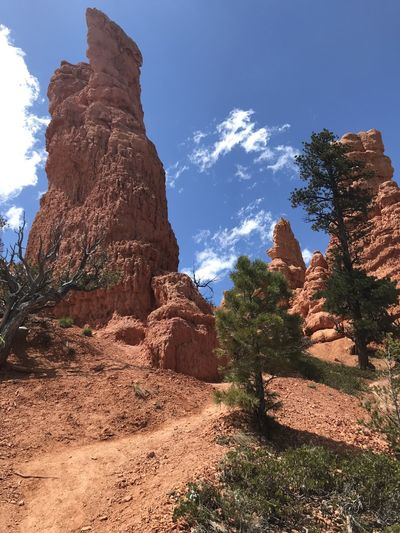 Red Canyon, Utah. May 2019. Rock Rock Formation Rock - Object Geology Solid Beauty In Nature Nature Sky Tranquility Physical Geography Mountain Non-urban Scene Tranquil Scene Sunlight No People Travel Scenics - Nature Environment Land Day Outdoors Formation Eroded Climate Sandstone Red Canyon State Park, Utah Red Canyon Hiking The Mobile Photographer - 2019 EyeEm Awards The Great Outdoors - 2019 EyeEm Awards The Traveler - 2019 EyeEm Awards