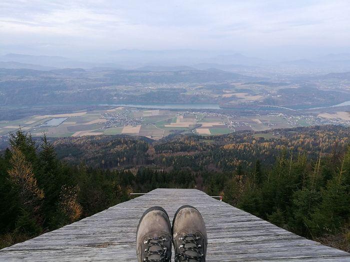 Singerberg Shoe High Angle View Mountain Wanderlust Bergliebe Wunderschöne Aussicht