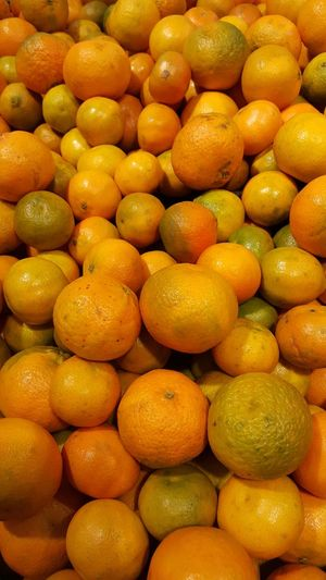 Abundance Food Freshness Fruit Healthy Eating Healthy Lifestyle Large Group Of Objects No People Organic Overhead View Mandarins Clementines Full Frame Orange Color