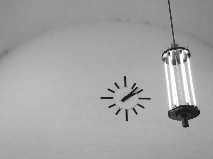 old clock at