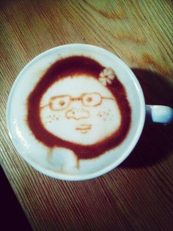 咖啡雕花艺术 Cappucino
