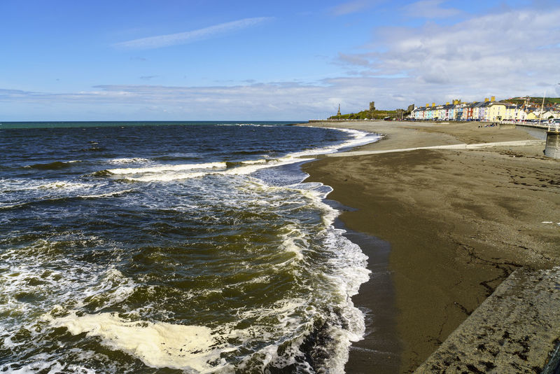 Aberystwyth in Wales Aberystwyth Architecture Beach Beauty In Nature Cardigan Bay Ceredigion Cymru Day Horizon Over Water Nature No People Outdoors Sea Sea View Seascape Seaside Sky Wales Wales UK Wales❤ Water Wave
