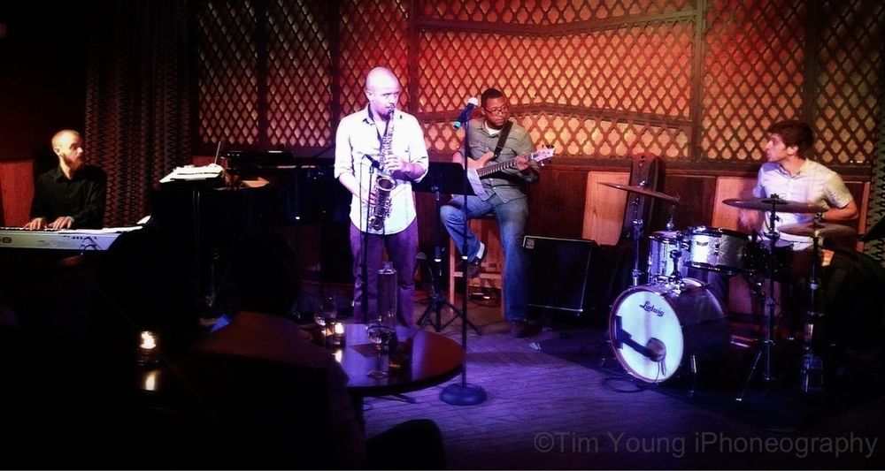 The Louis Fouche' Quartet Jazz Timyoungiphoneography Harlem  Ginny's Supper Club